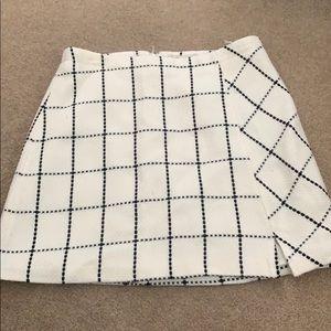 Cato Plaid Skirt